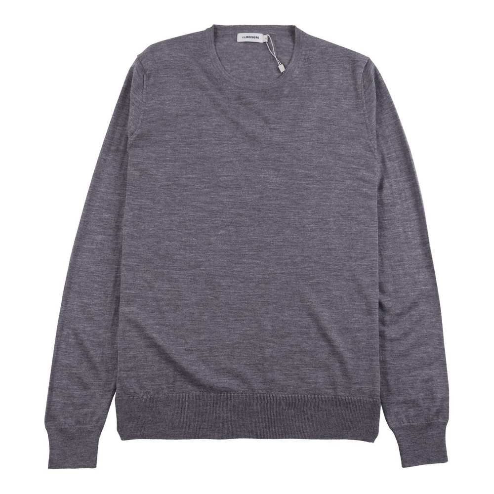 Edvin C-Neck Light Merino Grey
