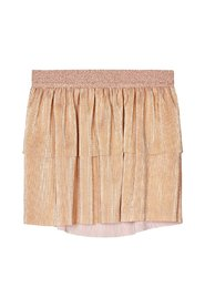 Mini skirt pleated