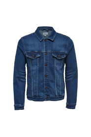 Only&Sons Coin Blue Denim Jacket - L