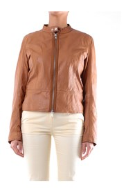 6518ROASTED Short Leather Jacket
