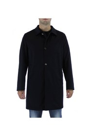 Reversible cashmere trench coat