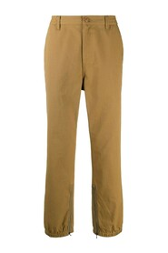 Ripstop cotton trousers