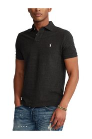 Brugerdefineret Slim Fit Mesh Polo T-Shirt