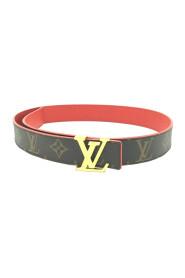 Cintura in tela con iniziali monogramma