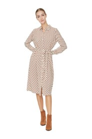 Shirt dress Striped