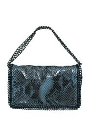 Eco-Snakeskin Falabella Clutch/ Shoulder Bag -Pre Owned Condition Very Good