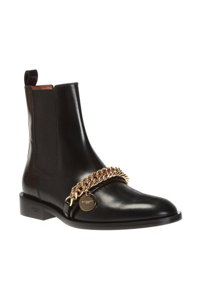 Givenchy Black Heeled Chelsea Boots