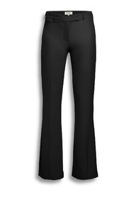 Crepe flare trouser