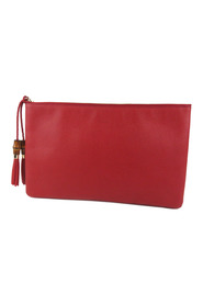 Bamboo Clutch Bag Leather Calf