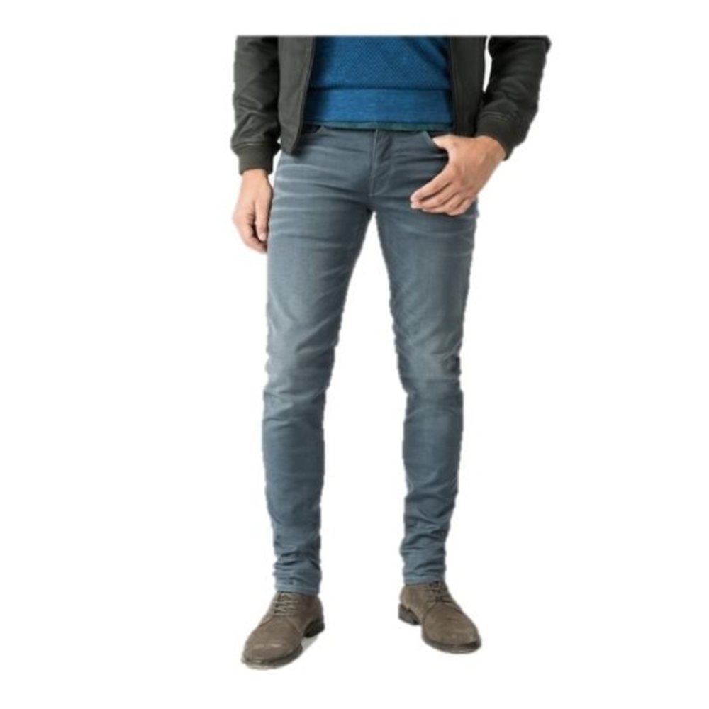 Cope Tapered Coated Jeans