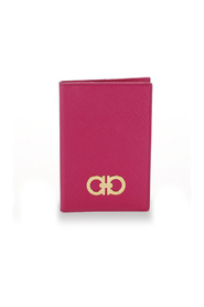 Gancini Leather Passport Cover