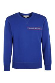 Sweatshirt with logo band