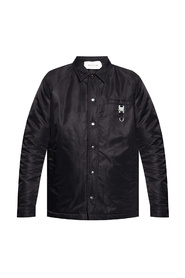 Jacket with buckle detail