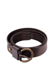 Sissel Stitched Wide Belt