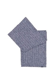 Paul & Shark cable scarf in eco-cashmere