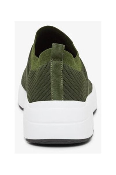 Army Green Trainers Knitted   Bianco   Sneakers