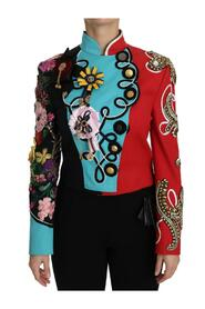 Crystal Floral Baroque  Jacket