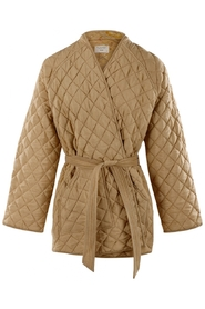Mia quilted silk jacket