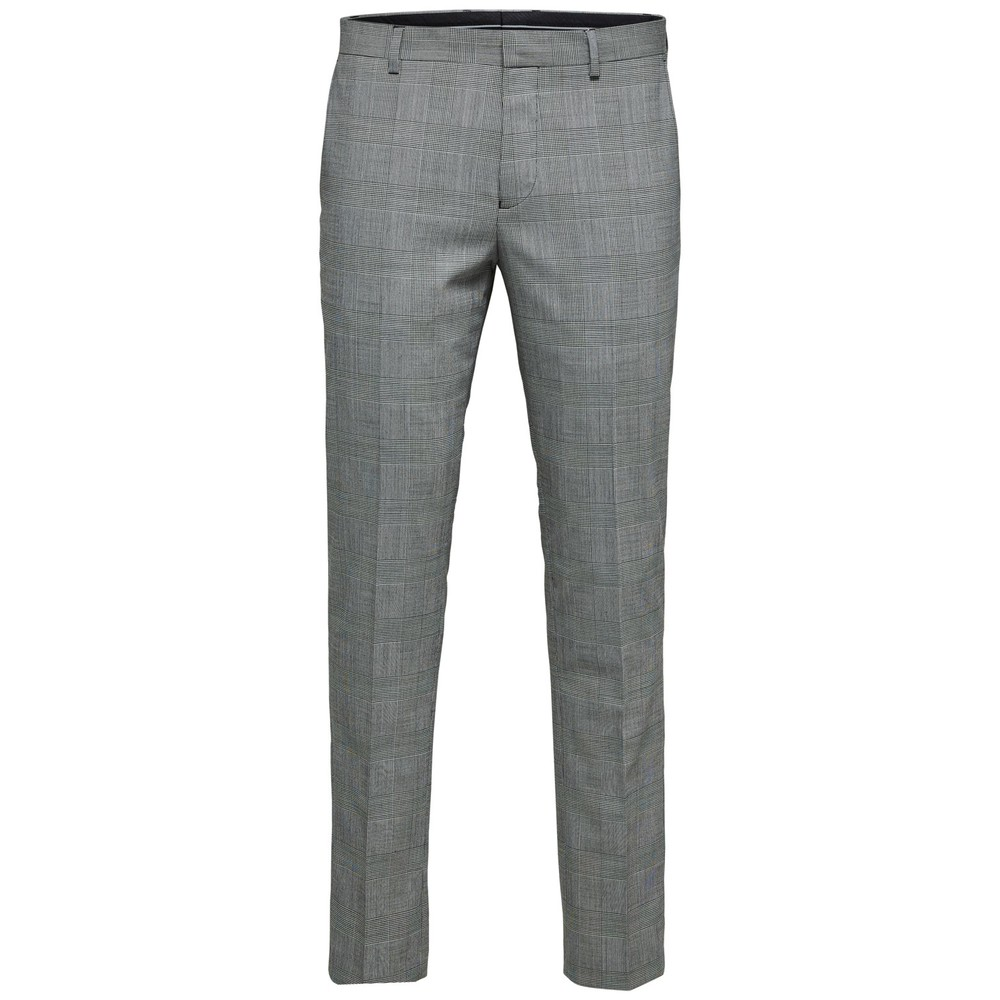 SLIM-LEEDMODO WHITE CHECK TROU