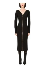 Midi zipper dress