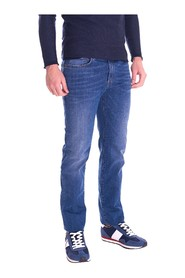 TRUSSARDI JEANS JEANS 380 ICON LIGHT BLUE MUSTACED