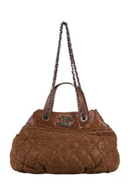 Classic In the Mix Lambskin Leather Satchel