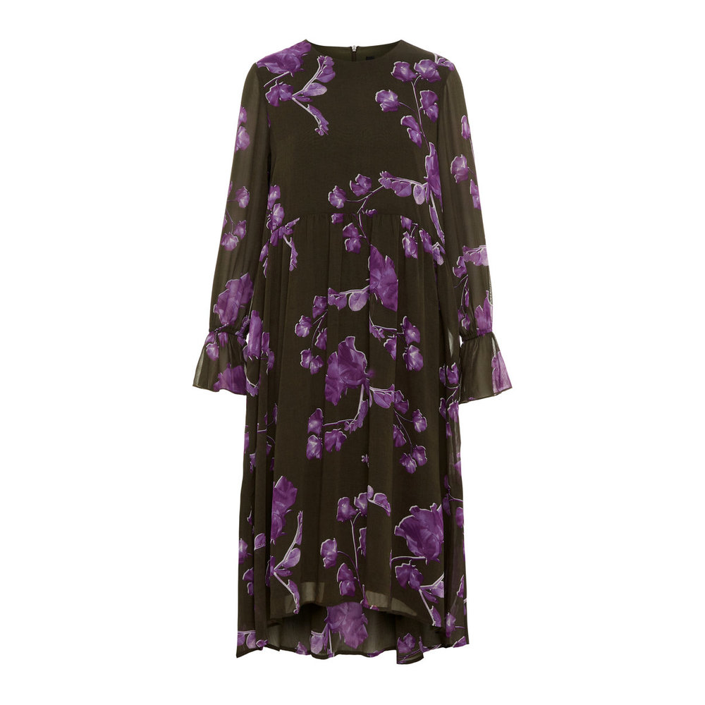 Long Sleeved dress Floral printed
