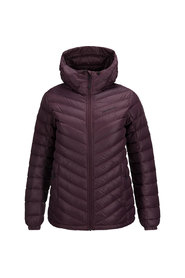 Burgunder Peak Performance Frost Down Hooded Jakke