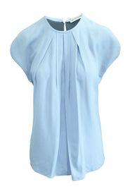 Pale Blue Short Sleeve Top