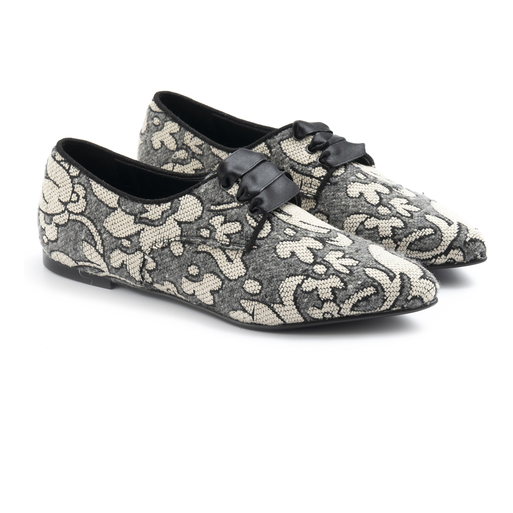 Ballerina Grey Flat shoes Ballerina
