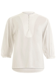 Blouse with volume at sleeves
