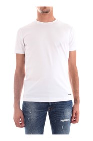 BIKKEMBERGS C700181E1951 T-SHIRT Men WHITE