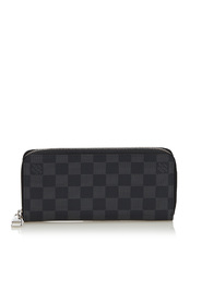 Damier Graphite Vertical Zippy Wallet