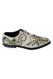 Suede Crystal Dress Broque Shoes
