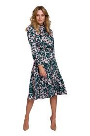 Sukienka Z Rozcięciem Na Plecach