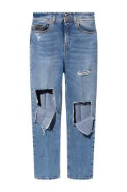 71HAB5TE-DW00904M Cropped jeans
