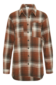 KAsorena checked shirt