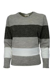STRIPED CREW NECK SWEATER 3511