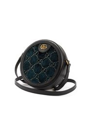 Ophidia Round Shoulder Bag GG Velvet