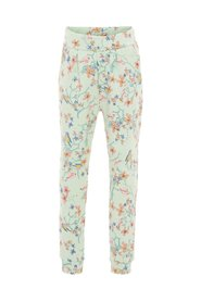 Sweat pants floral printed
