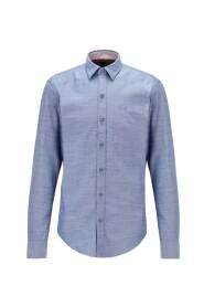 Slim Fit Oxford Cotton Stretch