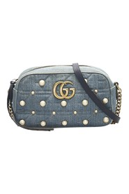Studded Marmont Denim Crossbody