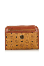 Visetos Leather Clutch
