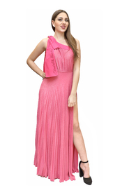 Long one-shoulder dress
