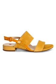 Gul Høgl Samtkid - Yellow Sandaler
