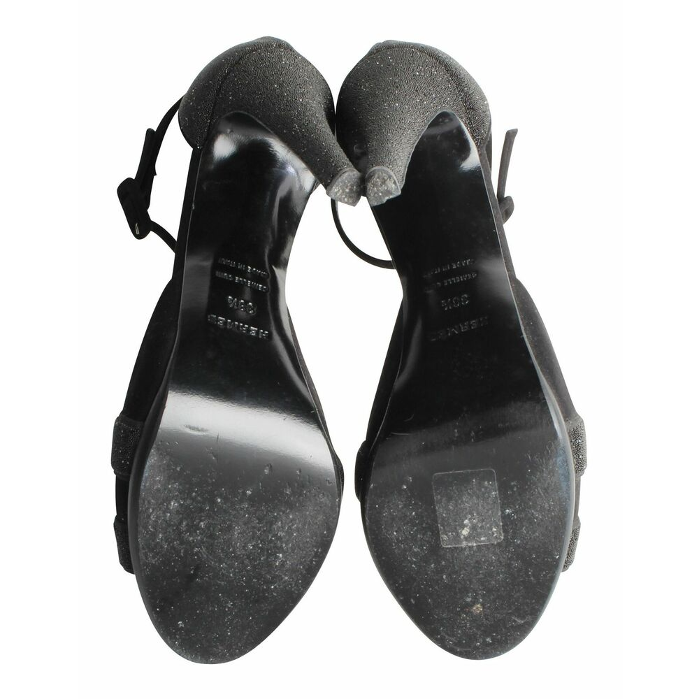 Hermès Vintage black Premiere Sandals Hermès Vintage