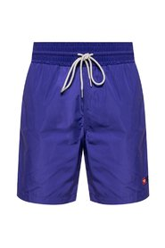 Logo-embroidered shorts