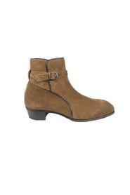 SUEDE STRAP BOOT Boots