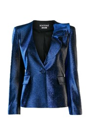 Ruffle detail fitted blazer 44