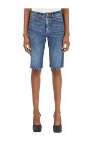 Skinny Cycling Short Jeans